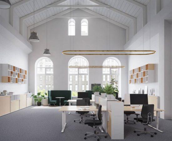 Dencon Delta Round Nordic Office Furniture